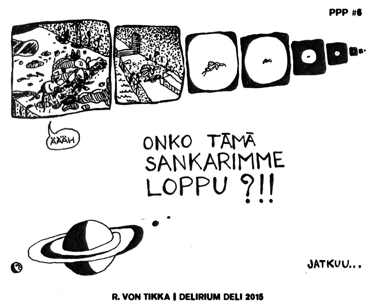 R. von Tikka: Pallopäiden planeetta